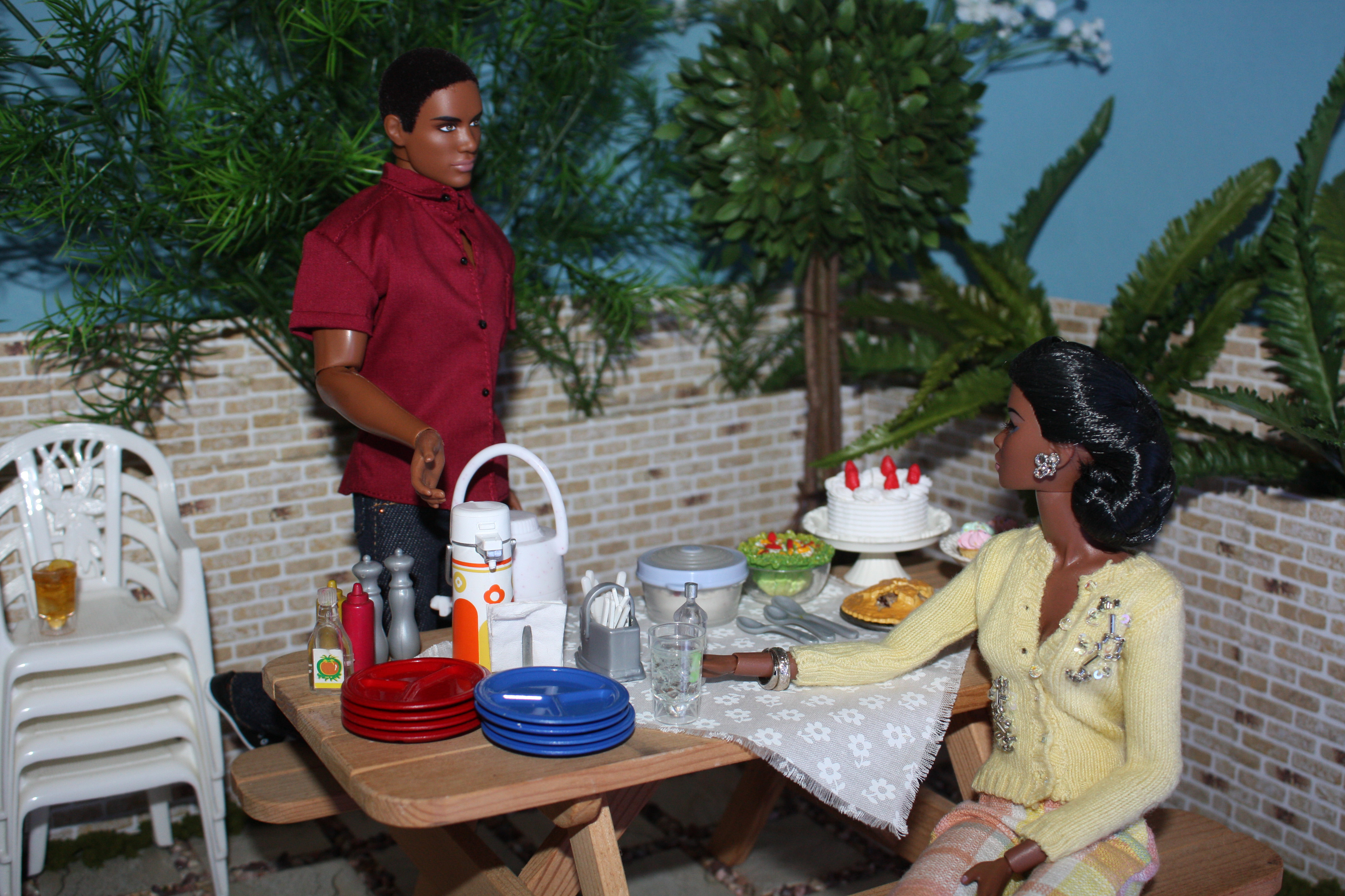 Barbeque on roof3